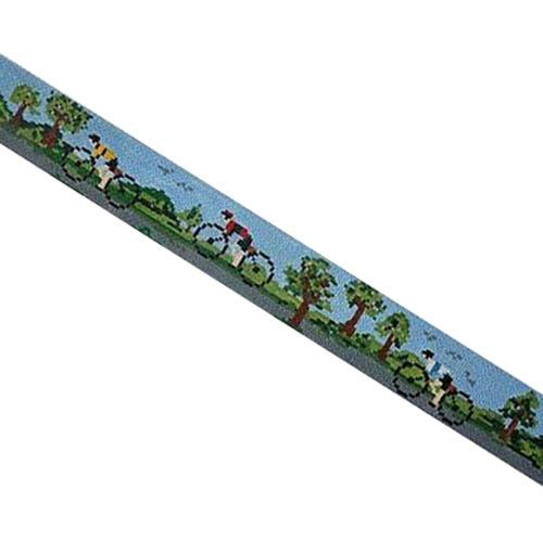 Bicycle Belt with Northern Trees Painted Canvas Voila!