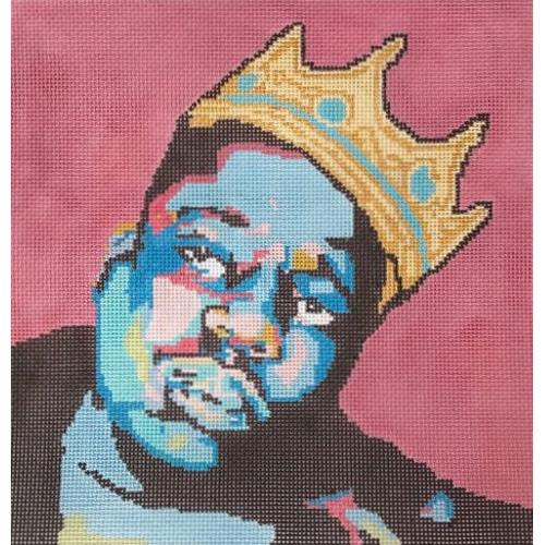 Biggie Smalls Painted Canvas Thorn Alexander