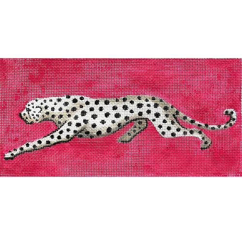 Black and White Leopard Painted Canvas Colors of Praise