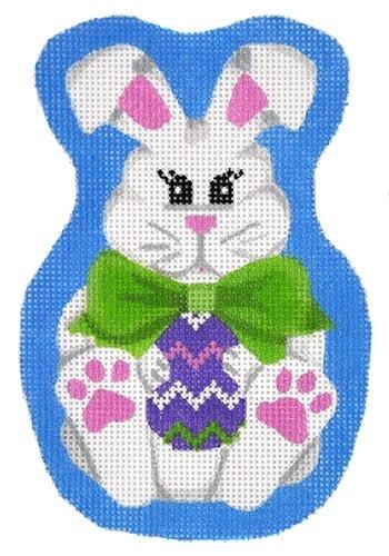 Bow Tie Bunny Painted Canvas Pepperberry Designs