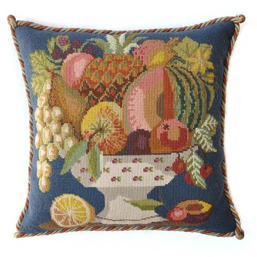 Bowl of Fruit Needlepoint Kit Kits Elizabeth Bradley Design