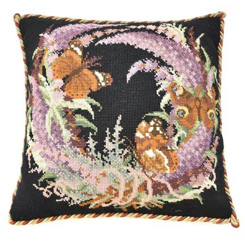 Buddleia Needlepoint Kit Kits Elizabeth Bradley Design