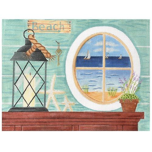 By the Sea Painted Canvas Vallerie Needlepoint Gallery