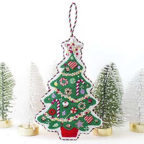 Candy Tree Needlepoint Kit & Online Class Online Classes Kirk & Bradley