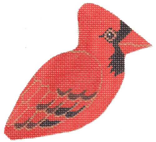 Cardinal Painted Canvas Labors of Love Needlepoint
