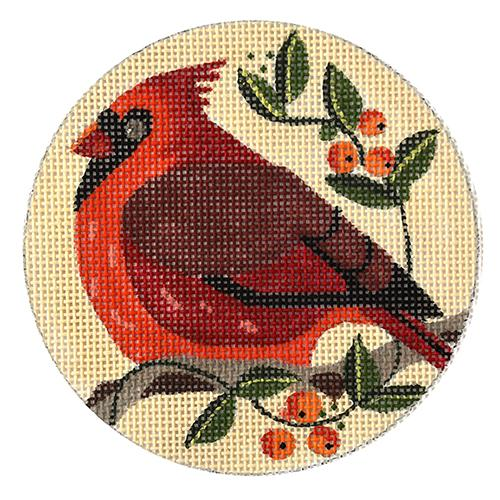 Cardinal Painted Canvas Melissa Prince Designs