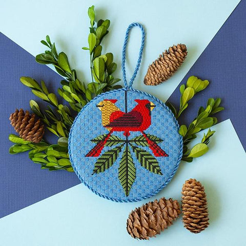 Cardinals Ornament Kit & Online Class Online Classes Charley Harper