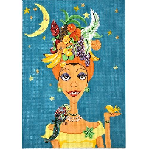 Carmen Miranda Painted Canvas The Meredith Collection