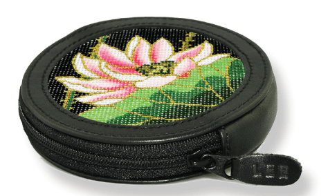 Change Purse - Black Leather Goods Lee's Leather Goods