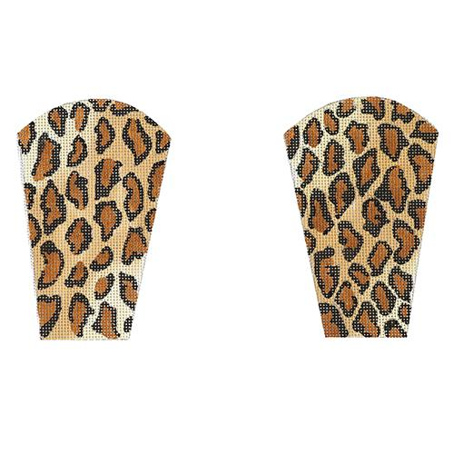 Cheetah Scissors Case Painted Canvas The Meredith Collection