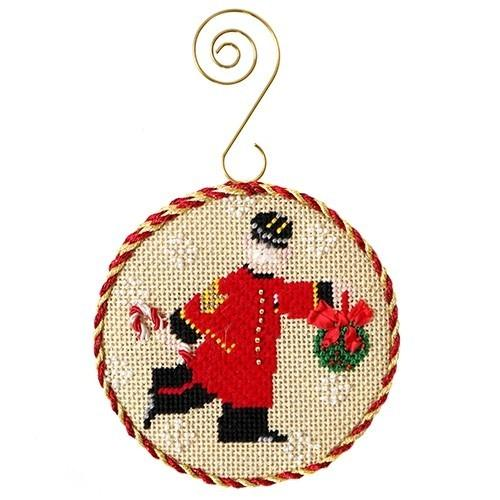 Chelsea Pensioner Needlepoint Kit - The Colonel KB Kits Needlepoint.Com