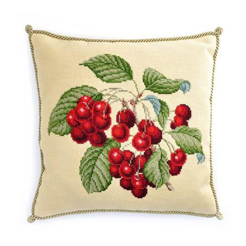 Cherries Needlepoint Kit Kits Elizabeth Bradley Design