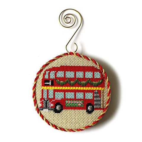 Christmas in London - Double Decker Bus Kit & Online Class Online Course Kirk & Bradley