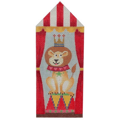 Circus Tent Lion Painted Canvas Kirk & Bradley
