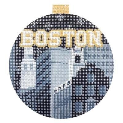 City Bauble - Boston Painted Canvas Kirk & Bradley