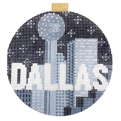 City Bauble - Dallas Painted Canvas Kirk & Bradley
