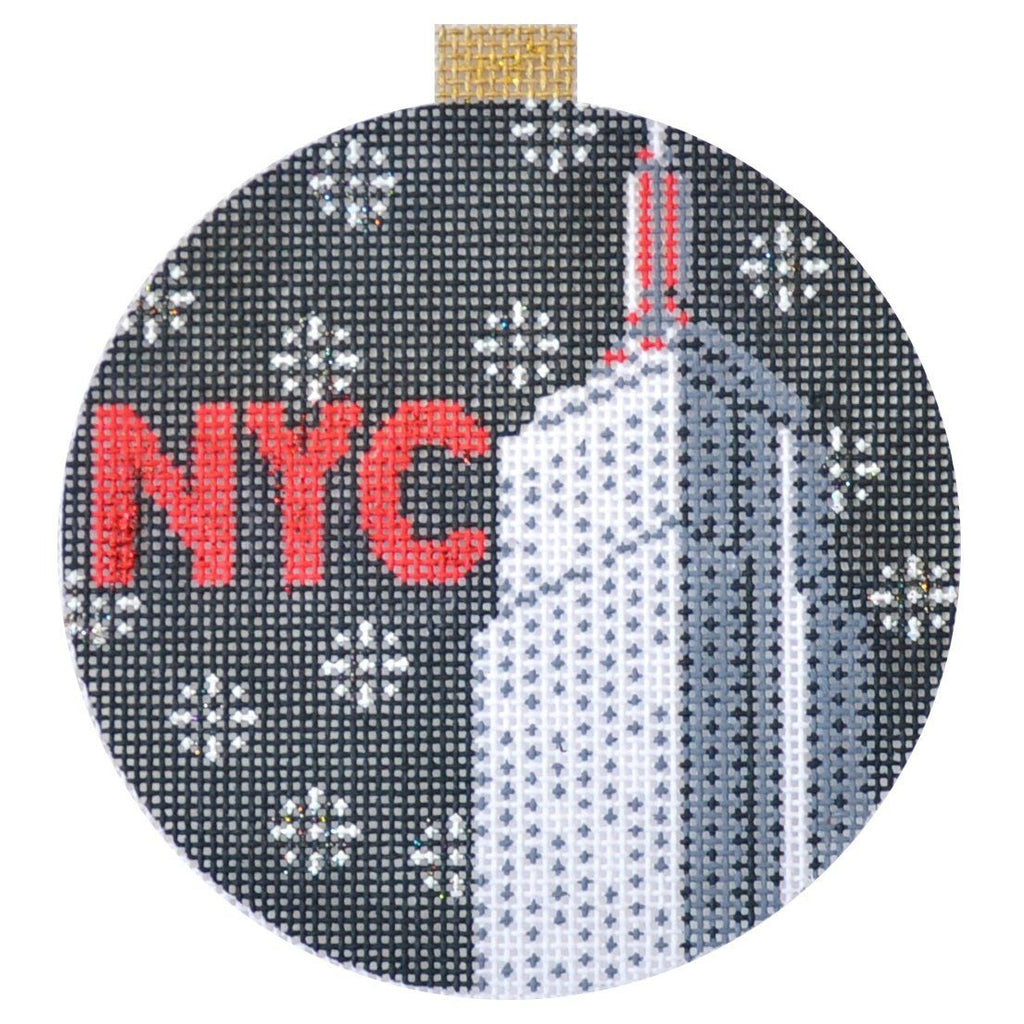 City Bauble - Empire State Painted Canvas Kirk & Bradley