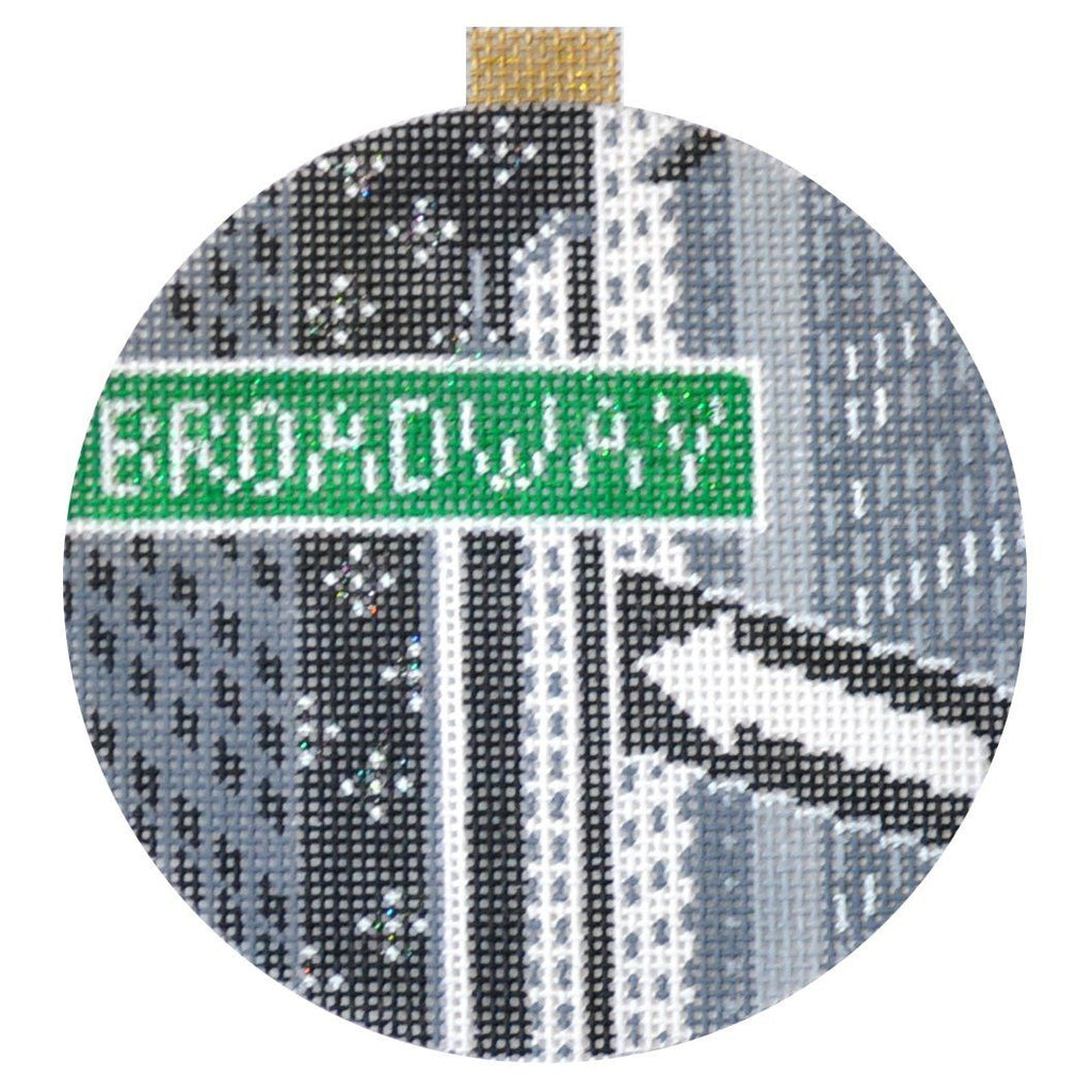 City Bauble - NYC Broadway Painted Canvas Kirk & Bradley