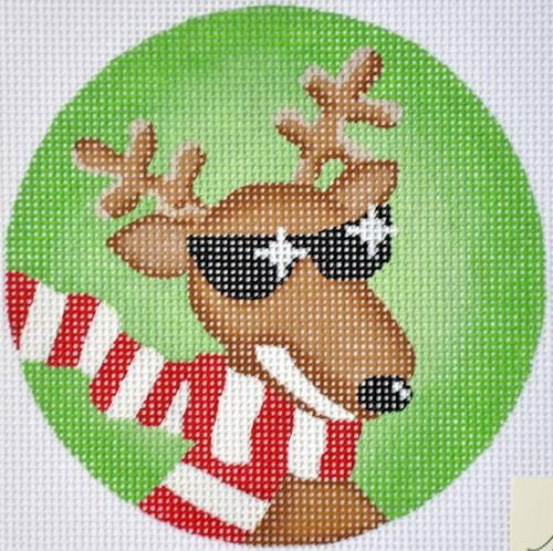 Cool Reindeer Painted Canvas Pepperberry Designs
