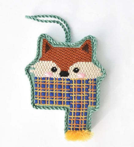 Cozy Critters - Fox Online Course Needlepoint.Com