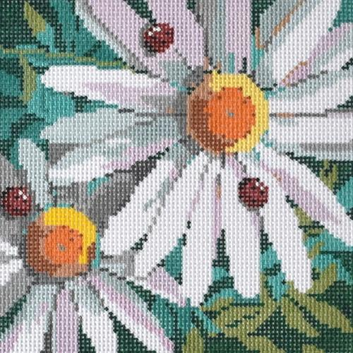 Daisies Painted Canvas CBK Needlepoint Collections