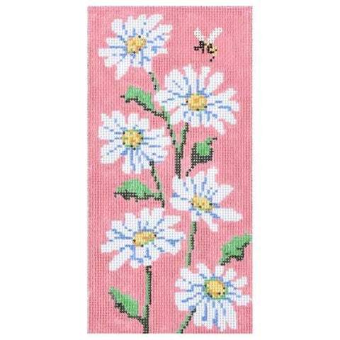 Daisy Eyeglass Case Painted Canvas Gayla Elliott