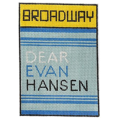 Dear Evan Hansen Painted Canvas Raymond Crawford Designs