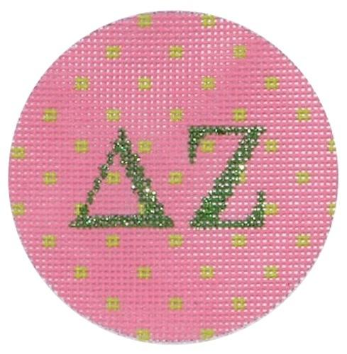 Delta Zeta Painted Canvas Kate Dickerson Needlepoint Collections