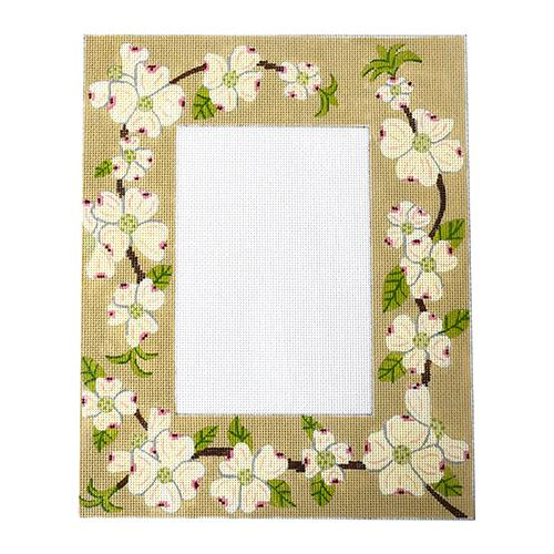 Dogwood Frame Painted Canvas J. Child Designs