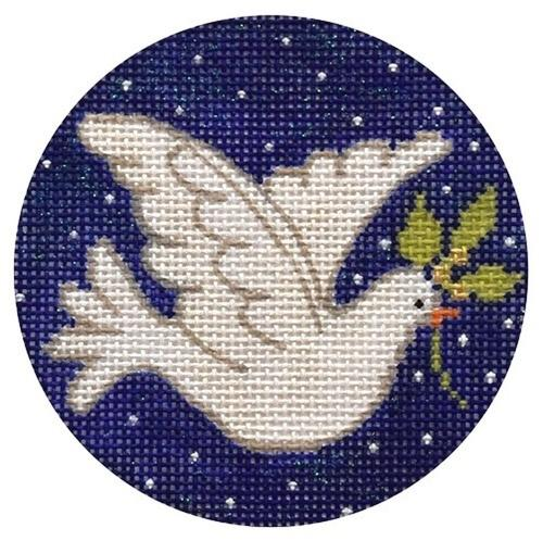 Dove Painted Canvas Vallerie Needlepoint Gallery