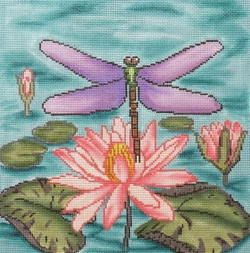 Dragonfly Painted Canvas Gayla Elliott