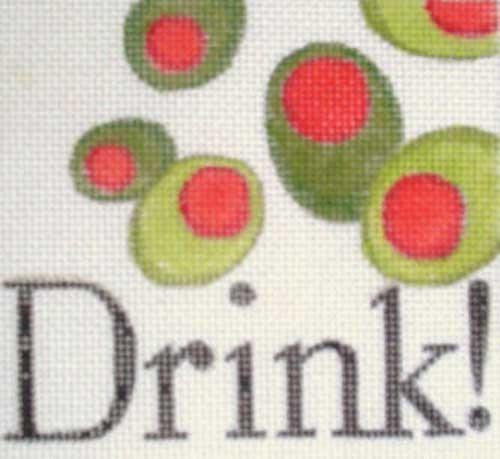 Drink! Painted Canvas Raymond Crawford Designs
