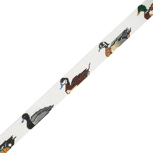 Ducks Unlimited Belt Painted Canvas The Meredith Collection
