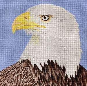 Eagle Painted Canvas The Meredith Collection
