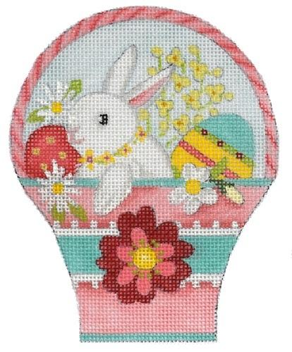 Easter Basket - Bunny Painted Canvas Melissa Shirley Designs