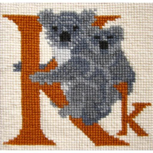 EBAAK Animal Alphabet Letter K - Koala Kits Elizabeth Bradley Design