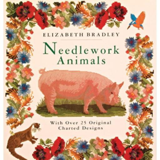 EBNA Needlework Animals Book - Elizabeth Bradley Books Elizabeth Bradley Design