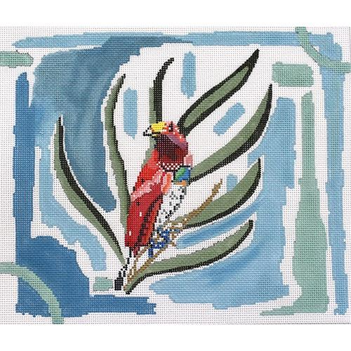 Edward the Empire Bird of Paradise Painted Canvas Thorn Alexander