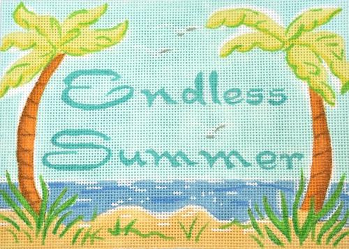 Endless Summer Painted Canvas Kate Dickerson Needlepoint Collections