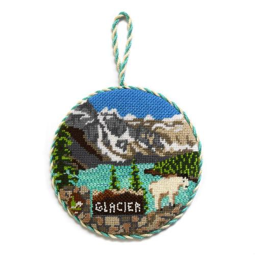 Explore America - Glacier National Park with Stitch Guide Painted Canvas Burnett & Bradley