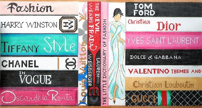 Fashion Books on 18 Painted Canvas Alice Peterson
