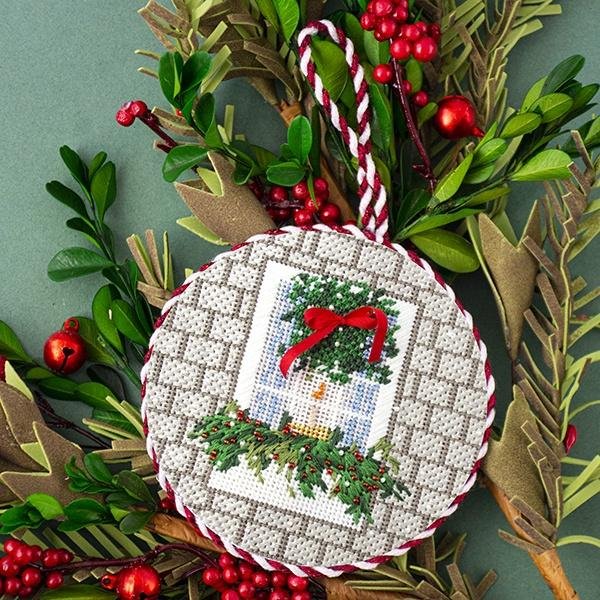 Festive Window Kit & Online Class Online Classes The Plum Stitchery