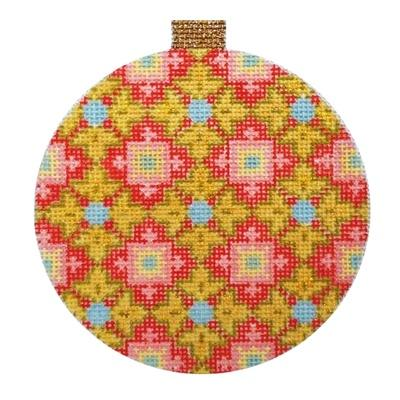 Florentine Bauble - Gold Painted Canvas Kirk & Bradley