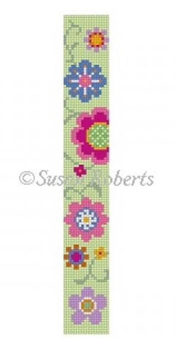 Flower Pops Painted Canvas Susan Roberts Needlepoint Designs Inc.