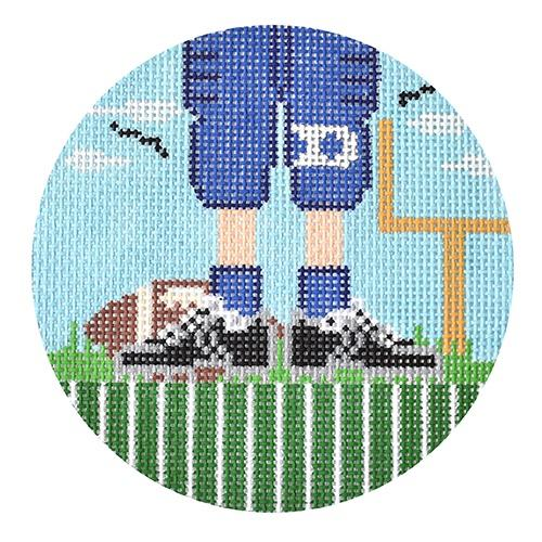 Football Feet Painted Canvas The Meredith Collection