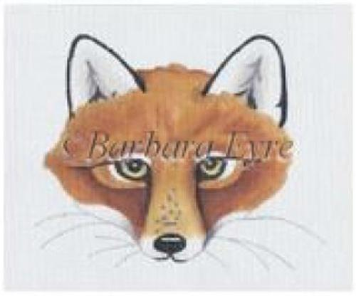 Fox Painted Canvas Susan Roberts Needlepoint Designs, Inc.