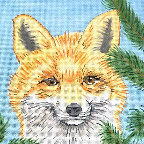 Fox Painted Canvas The Meredith Collection