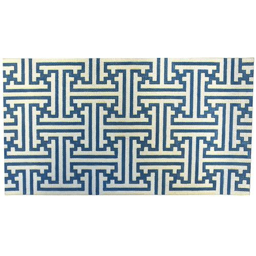 Fretwork Bolster Painted Canvas Associated Talents
