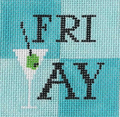 FriYAY Painted Canvas Vallerie Needlepoint Gallery