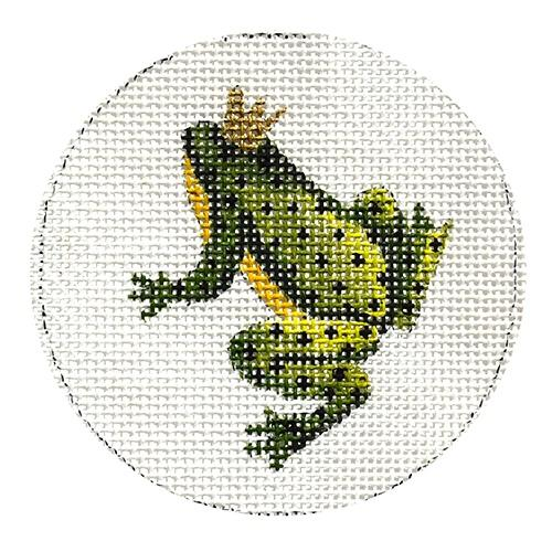 Frog with Crown (COP) Painted Canvas Colors of Praise